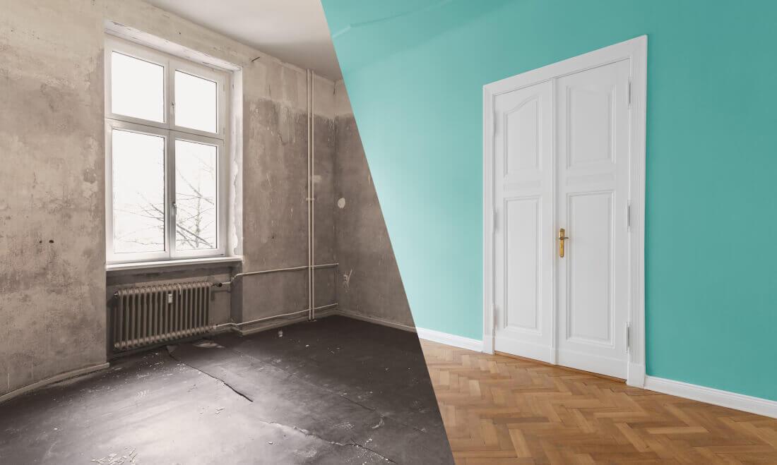 Sanierung von Immobilien